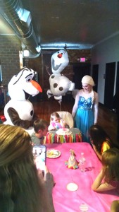 Olaf Elsa Birthday party